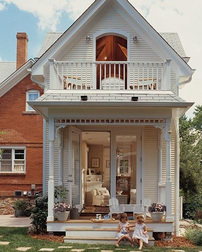 A second story addition to your home can add value and style, without stealing any lawn space. Whether you want to add a master suite, a media center, a cozy seating area, or anything else, another story may be the perfect solution. These houses are incredibly beautiful, and the additions make them look even more impressive.