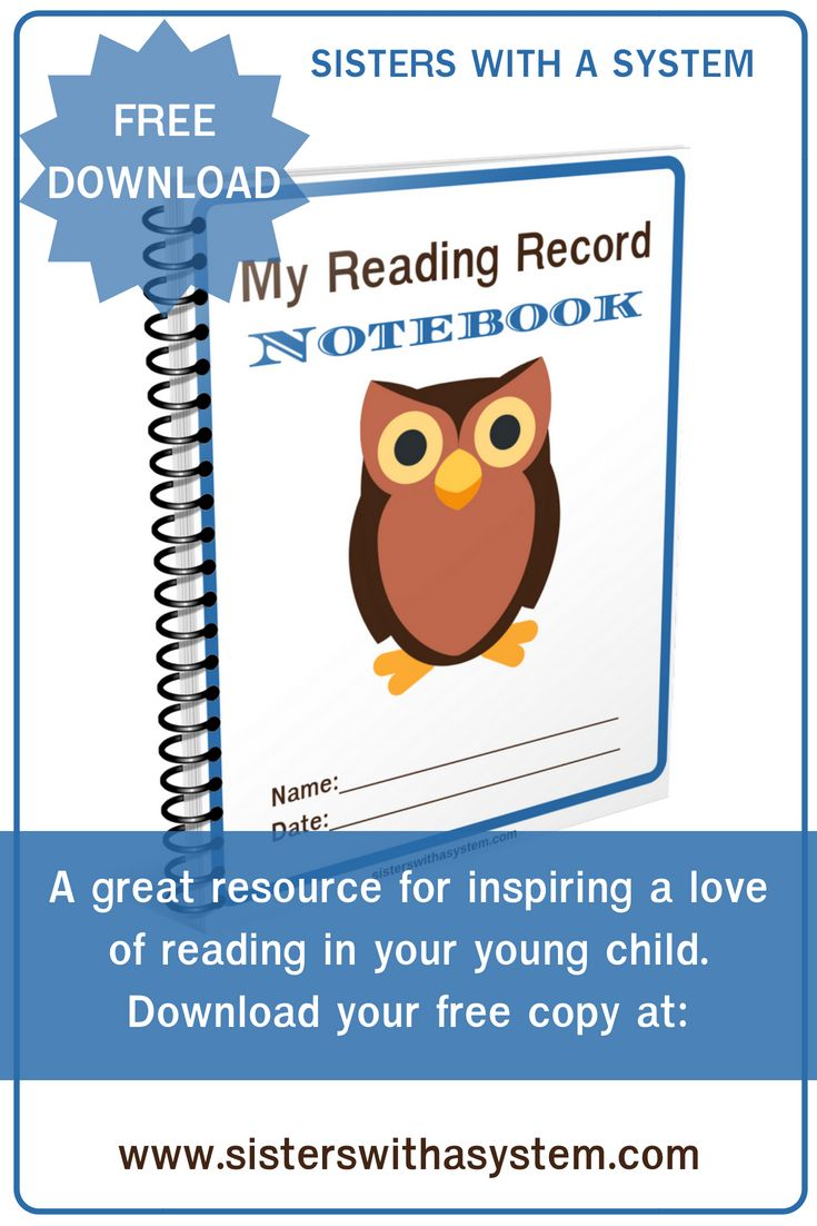 My Reading Record Notebook Free Resource Reading Record Free Homeschool Printables Homeschool Reading Free reading resources for preschool