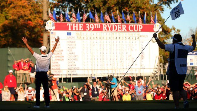Ryder Cup 2012: Europe beat USA after record comeback