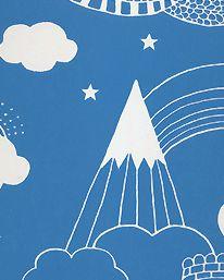 Tapet Drakhimlen mörkblå från Majvillan