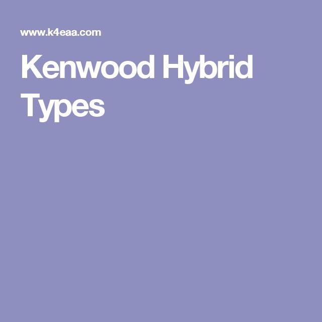 Kenwood Hybrid Types