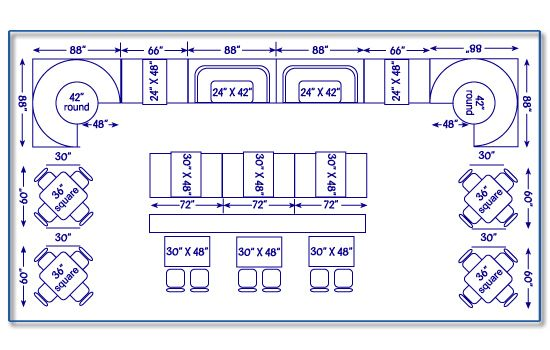 Simple Restaurant Kitchen Layout Dimensions Seating Chart Design Guide  Standard And Design