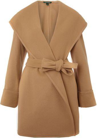 Lauren by Ralph Lauren  Shale Wrap Coat