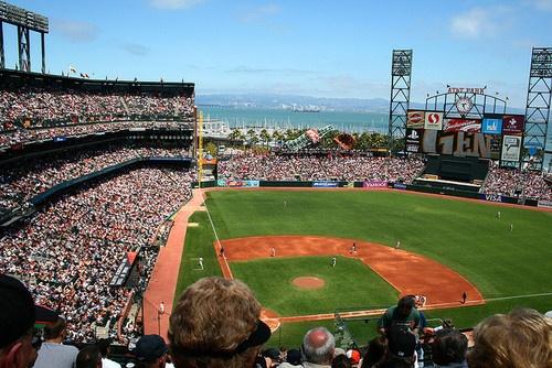 at&t park. san francisco.Att Parks, Baseball Season
