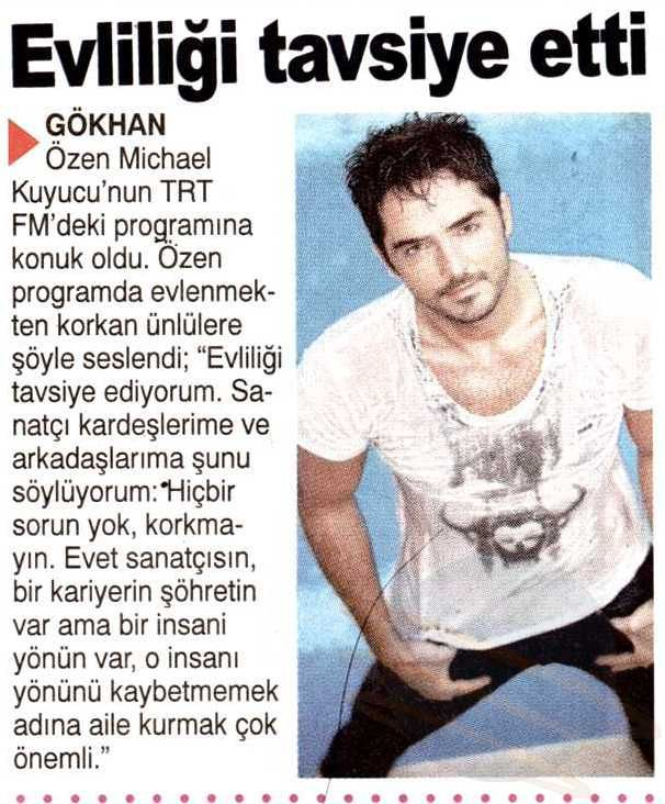 Michael Kuyucu'nun TRT FM'deki Gökhan Özen programından
