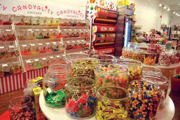 Candyality Chicago, Two Chicago locations: 520 N. Michigan Ave. 312-527-1212 & 3737 N. Southport Ave. 773-472-7800