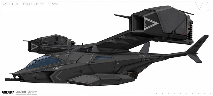 Finally got approval to show three Call of Duty: Black Ops 3 images done back in 2014. This was for a stealth fighter VTOL seen in the game, was fun working back and forth with Treyarch on this! Hopefully i will be able to show a few more things at some point if/when more stuff gets approved.
