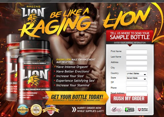 Satisfy Your Woman's need with Raging Lion!  #menshealth #Muscles #reviews2015 #testosterone #menscare