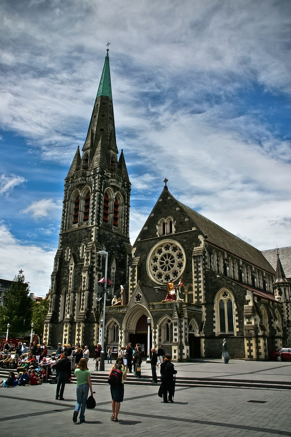 Christchurch Cathedral New zealand