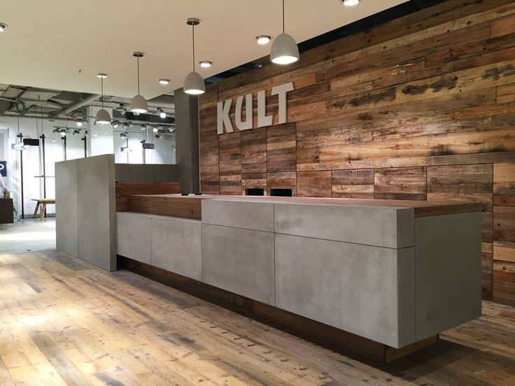Stores need to be innovative, and therefore different - daily business competition. The franchise business KULT wanted to build a design-store and asks us to design and manufacture the cement counter top of the sales counter. The store was first opene