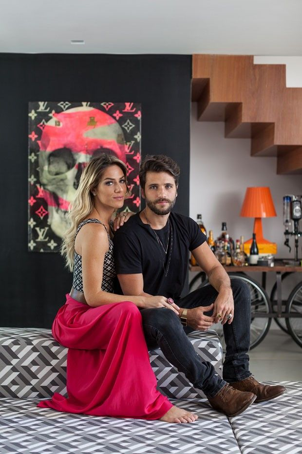 Casa Bruno Gagliasso e Giovanna Ewbank (Foto: ran Parente)