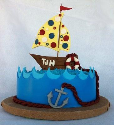 Cute little boy cake!