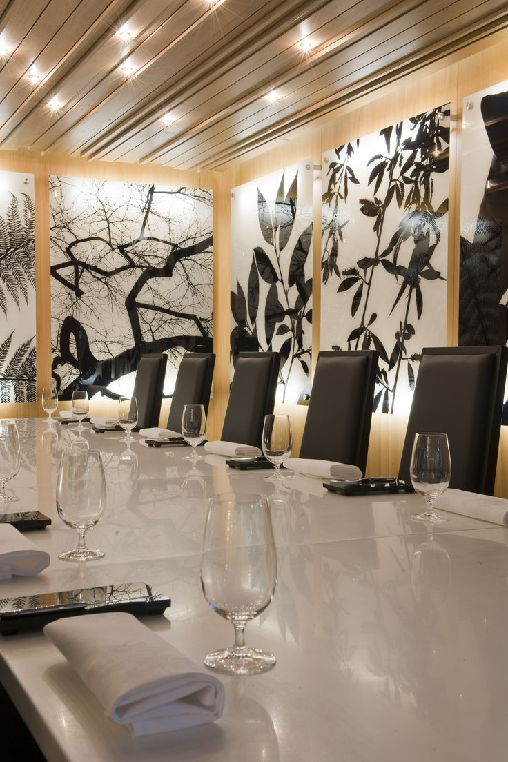 Private dining at Pescatore, The George, Christchurch NZ