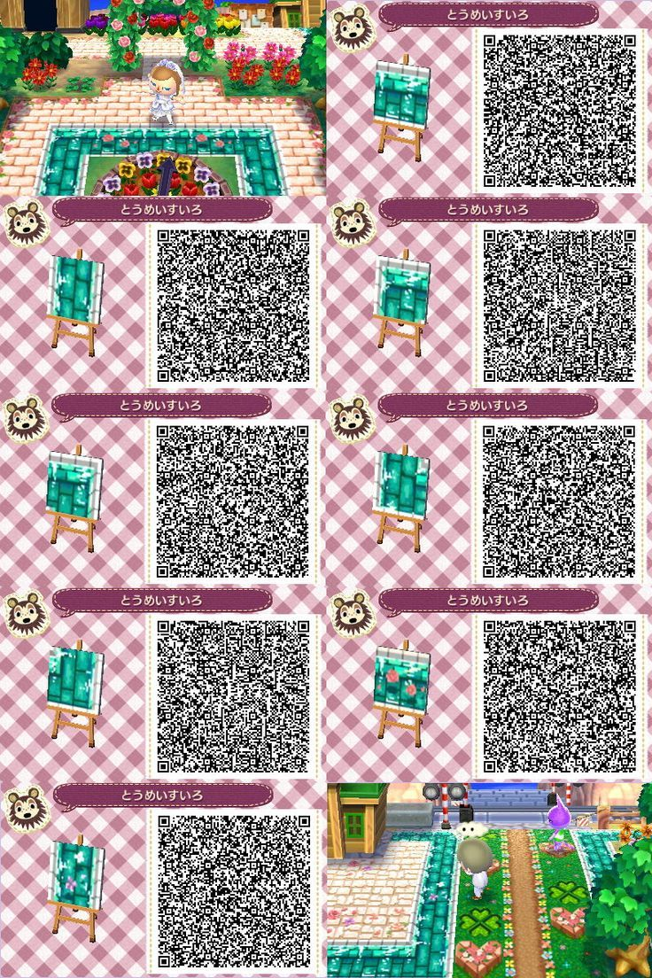 Water Flower Path Flower Path Water Animal Crossing Acnl