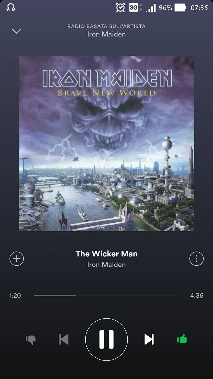 """Iron Maiden - The Wicker Man """"...You watch the world exploding every single night, dancing in the sun a newborn in the light. Say goodbye to gravity and say goodbye to death  hello to eternity and live for every breath. Your time will come, your time will come. Your time will come, your time will come..."""""""