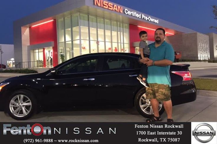 "Please Welcome to the Fenton Nissan of Rockwall Family, Ernest & Grace of Wylie, Tx. I really enjoyed our time together & hope to see you again in 2 to 4 years! My job doesn't end here, I am always here for you & remember ""Buying Referrals"" pays you MONEY - $100.00 To Be EXACT! For same great deals, contact me Deen Slagle at 903.355.8787 & or email me at daily.slagle@fentonmotors.com  https://deliverymaxx.com/DealerReviews.aspx?DealerCode=V432  #FentonNissanofRockwall #2015NissanAltima…"