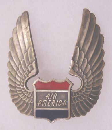 Vietnam Helicopter insignia and artifacts - Air America
