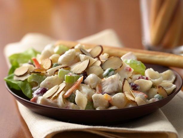 Turkey-Cranberry Bacon Ranch Pasta Salad