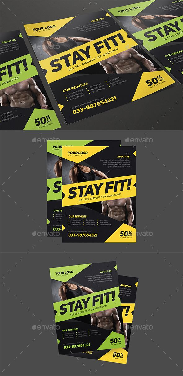 163 best Fitness Flyer images on Pinterest Cars, A professional - fitness flyer