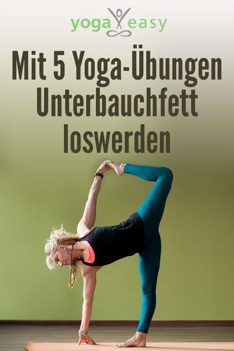 Diese Yoga-Übungen für den Core helfen gegen das viszerale Fett/Unterbauchfett…