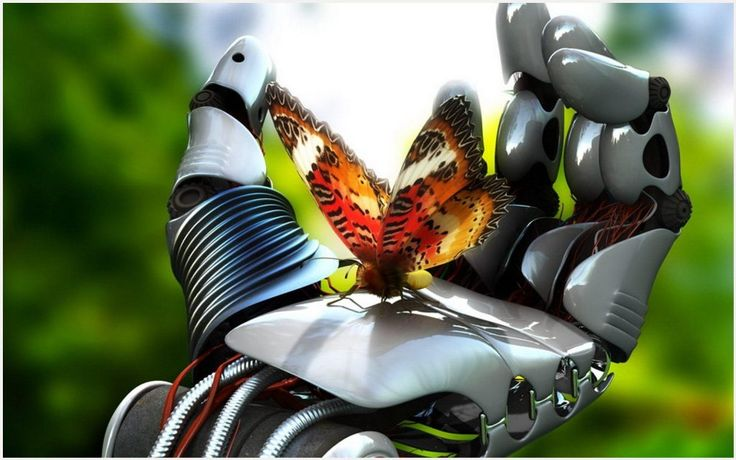 Robot Hand And Butterfly HD Wallpaper | robot hand and butterfly hd wallpaper 1080p, robot hand and butterfly hd wallpaper desktop, robot hand and butterfly hd wallpaper hd, robot hand and butterfly hd wallpaper iphone