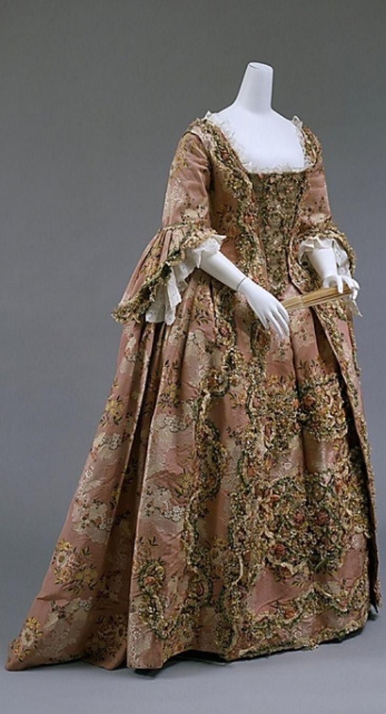 Rokoko - (1730 bis 1770/1780)   Historisches kleid ...