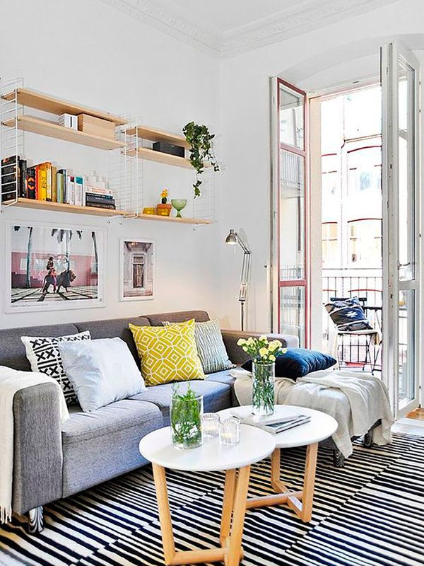 1000 images about living room cozy reading corners on - Salones comedores pequenos ...