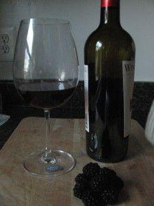 how to make blackberry wine easy