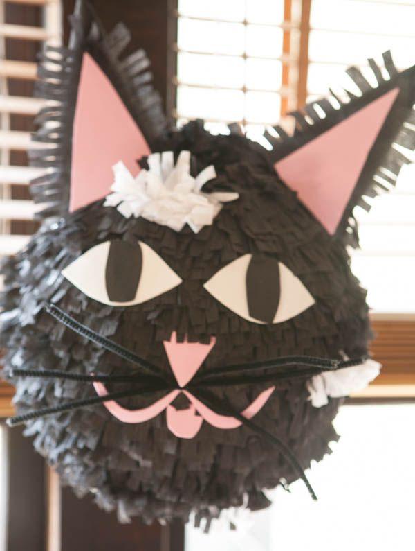 Cat Pinata | Nearly Crafty http://nearlycrafty.com/cat-pinata/