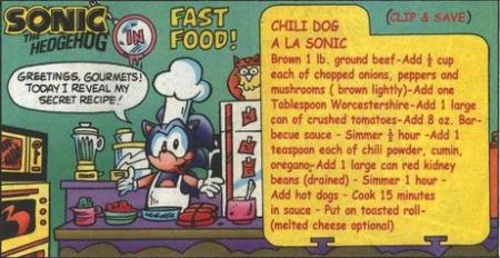 Official recipe for Sonic's chili dogs