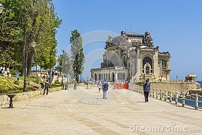 Casino Seawall, Constanta, Romania - Download From Over 24 Million High Quality Stock Photos, Images, Vectors. Sign up for FREE today. Image: 41275488