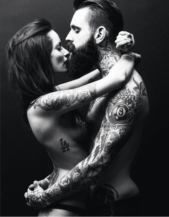 Beards and tattoos dating