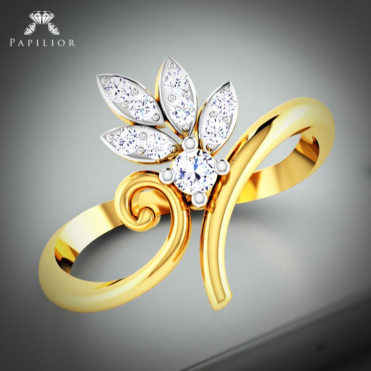 """""""Right on track with the Piano Track #Ring.""""  #goldring #diamondring #rings #14KT #18KT"""