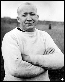 Legendary Notre Dame football coach, Knute Rockne, born on Mar. 4, 1888.
