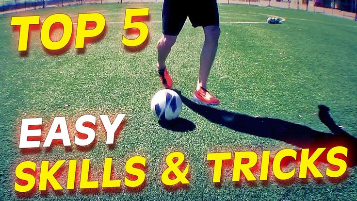 Top 5 Easy Football Skills & Tricks To Learn For Beginners
