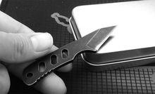 Doux Tactique petit NOUS mtech mini Poche Collier couteau Stonewash Camping En Plein Air Survie Couteau EDC outils Avec Kydex Gaine(China (Mainland))