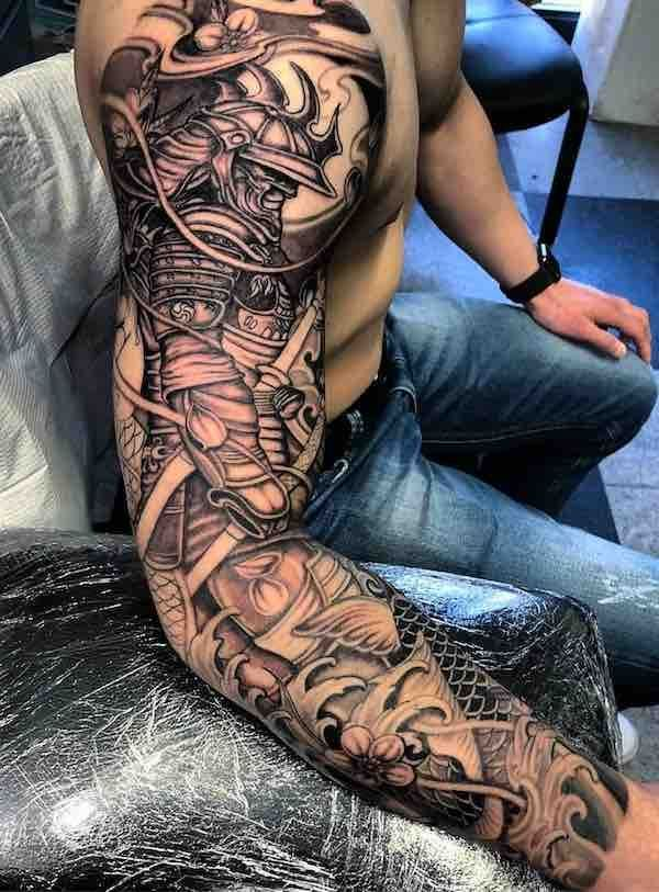 Best Sleeve Tattoos – #samurai #Sleeve #Tattoos