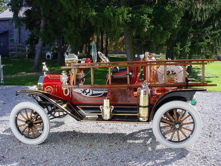 1917 American LaFrance Chemical Truck on a Ford Model T frame......