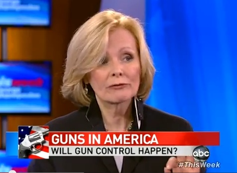 Peggy Noonan:Noonan: 'People Are Buying Guns Like Crazy Now Not Because They're Nutty, Not Because They're Angry, But Because They Fear Their Country is Falling Apart' [Video]