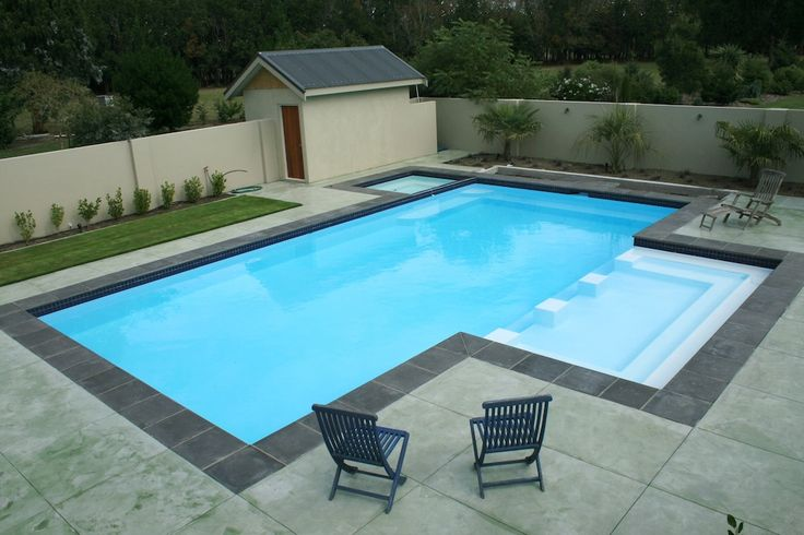Swimming Pool by Mayfair Pools Canterbury, an award winning pool builder.