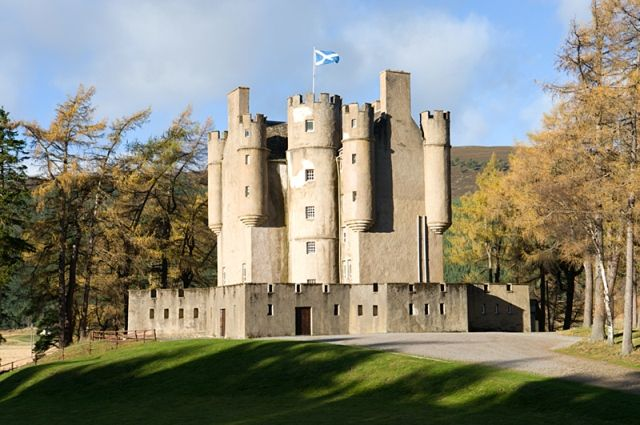 Braemar Castle, Royal Deeside, historic seat of the Farquharson Clan, a reminder of the Jacobite wars.