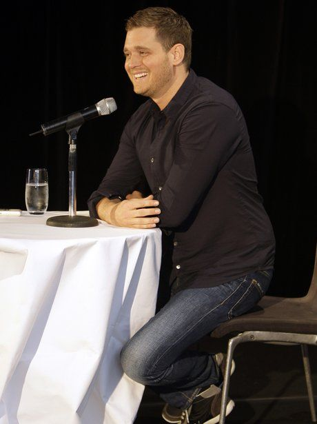 Michael Bublé gives an interview in Sydney, Australia, ahead of his hugely popular Crazy Love tour