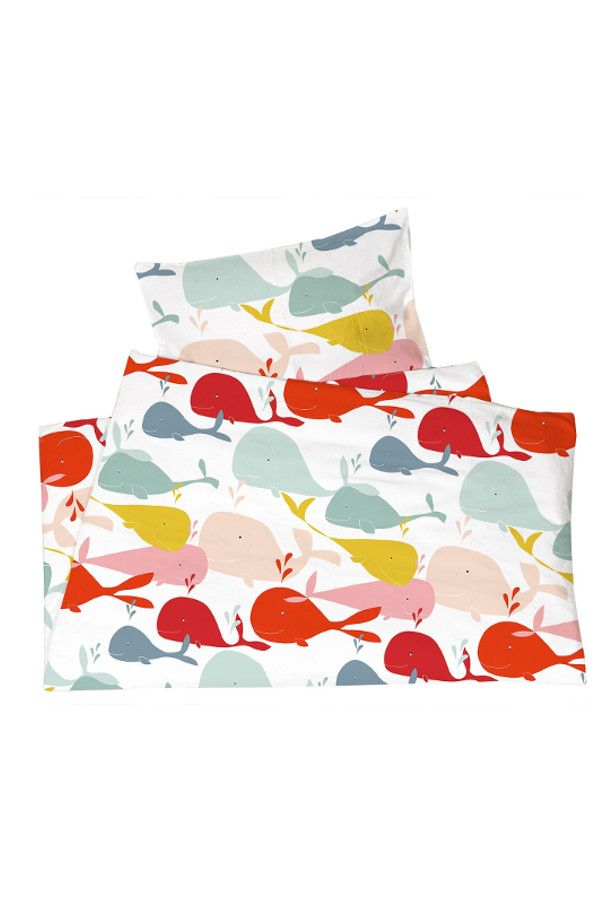 Kinderbettwasche Bio Baumwolle Jersey Wale Von Hans Natur