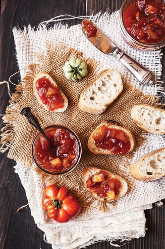 Tomato Green Apple Jam