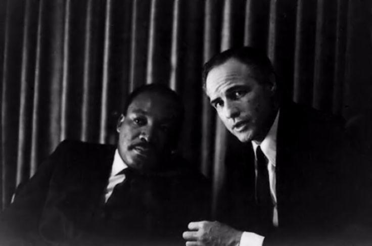 Martin Luther King-Marlon Brando