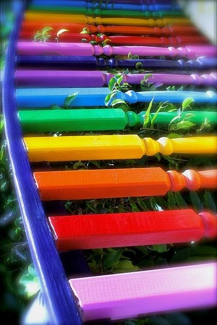 Rainbow Spindles