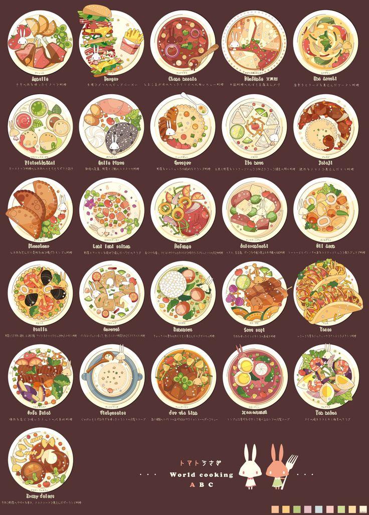 Drawn Food! : Photo