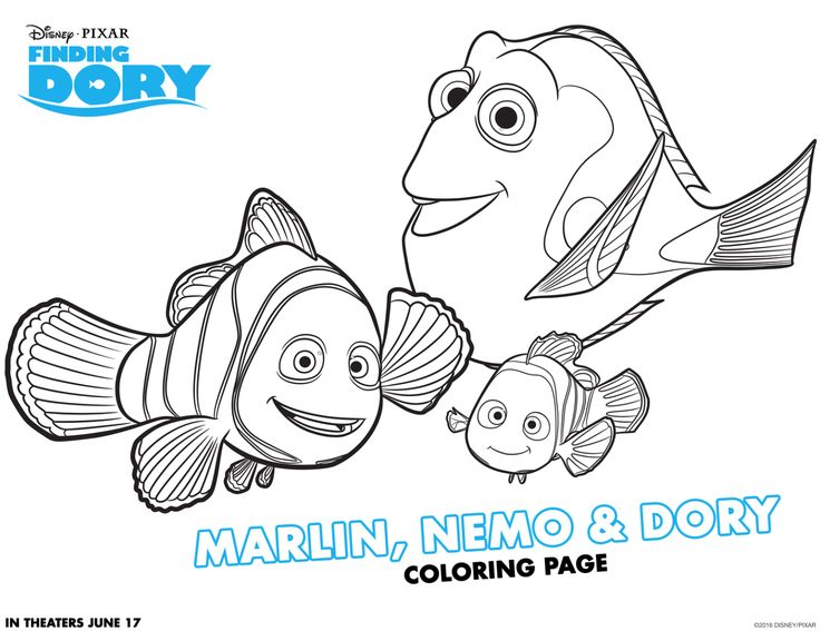 Finding dory on demand with free printables and