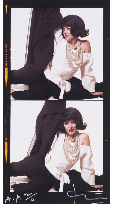 "Bert Stern's ""The Jackie Kennedy Sitting"".  1962"