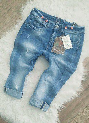 Kup mój przedmiot na #vintedpl http://www.vinted.pl/damska-odziez/dzinsy/16420751-baggy-boyfriend-jeansy-denim-bershka-nowe-xs-s-blue